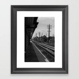 Valley Stream Station Framed Art Print