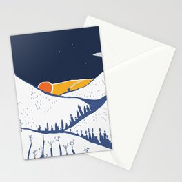 Mountain mysteries Stationery Cards