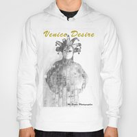 venice Hoodies featuring Venice by Alex Coghe