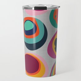 Rainbow Resin Travel Mug