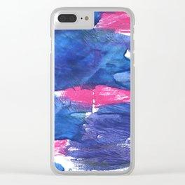 Han blue Clear iPhone Case