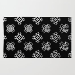 Abstract vintage pattern 2 Rug