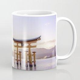 Torii at Miyajima Coffee Mug