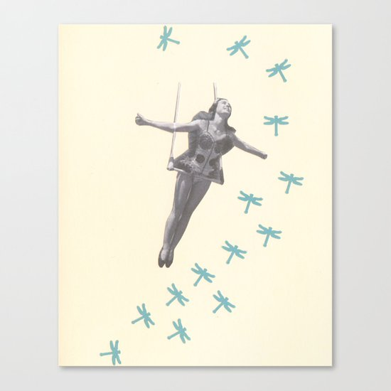 Oh to be a Dragonfly Canvas Print