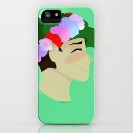 Flower Sean iPhone Case