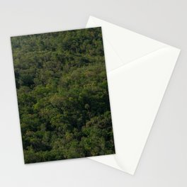 Forest texture background Stationery Cards