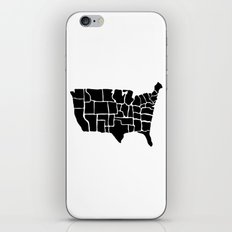 America from Memory iPhone & iPod Skin