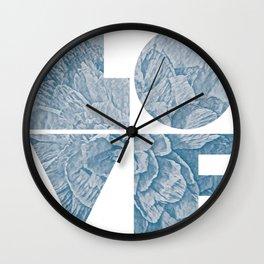 Peony III - series Wall Clock
