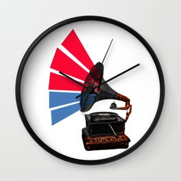Colour Of Sound Wall Clock