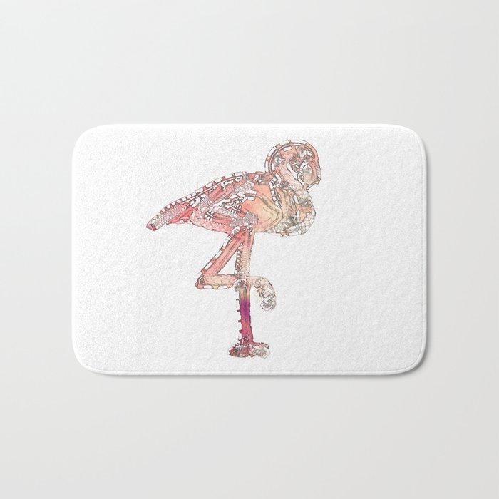 Pink Flamingo Revamp Bath Mat
