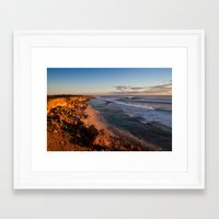 west coast Framed Art Prints featuring West Coast by Kyle Moreno