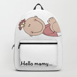 Pink Baby Backpack