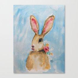 Harietta the Hare Canvas Print
