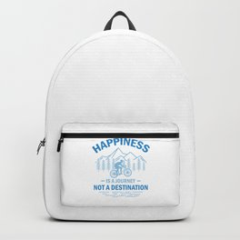 Happiness Is A Journey Not A Destination wb Backpack