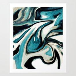 agate slice, geode art, geode agate, agate art, contemporary art, abstract geode, abstract art Art Print