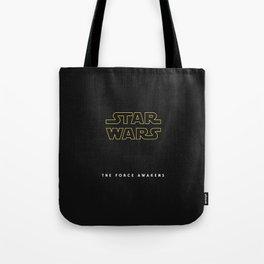 The Force Awakens, Vintage Poster, tar wars, vintage movie poster Tote Bag