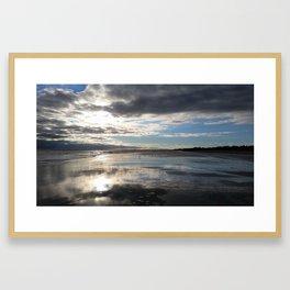 Gulls on the Sands Framed Art Print