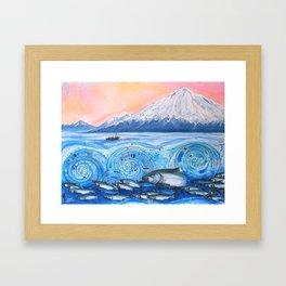 Cook Inlet Wild Alaska Framed Art Print