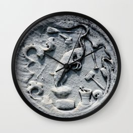 WITCH GRAVE Wall Clock