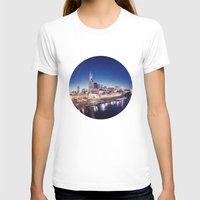 nashville T-shirts featuring One night in Nashville by GF Fine Art Photography