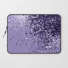 ULTRA VIOLET Glitter Dream #1 #shiny #decor #art #society6 Laptop Sleeve