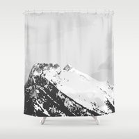 arctic monkeys Shower Curtains featuring Arctic by LejonInteraktiv