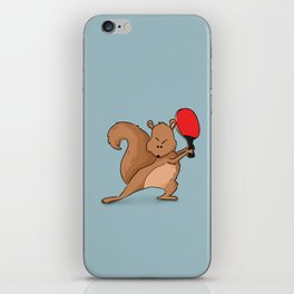 Talented Squirrel iPhone Skin