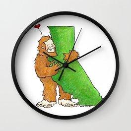 California Love Wall Clock