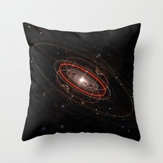 Space & Particles - GodEye 02 Throw Pillow