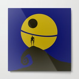K2-SO Halloween Metal Print