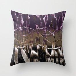 Purple Royale Throw Pillow