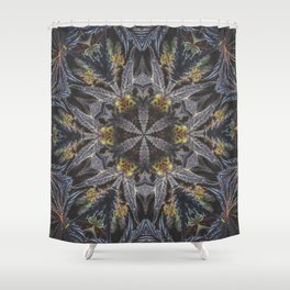 Flowers of Life Shower Curtain