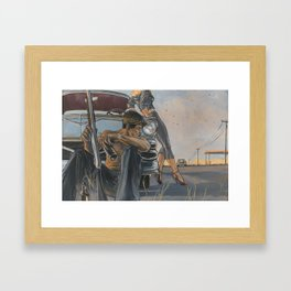 Baby... This Old Con Ain't Gonna Last Forever Framed Art Print