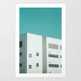 Nafa Minimal Art Print
