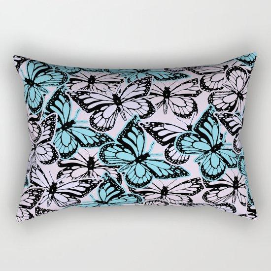 Vintage Butterflies Rectangular Pillow