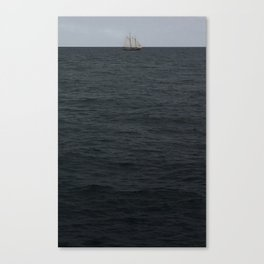 sails over waves Canvas Print