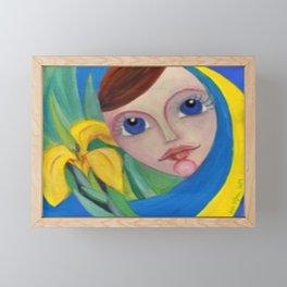 Lake Fairy Framed Mini Art Print