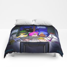 Scary Movie Night Comforters