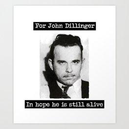 Dillinger Art Print