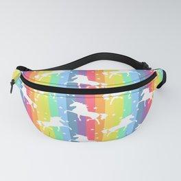 Rainbow Unicorn 2 Fanny Pack