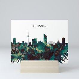 Leipzig Skyline Mini Art Print