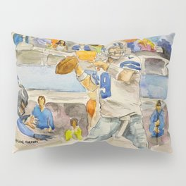 Tony Romo - Retired Pro Football Player Pillow Sham