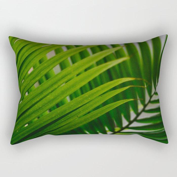 Tropical Lines Rectangular Pillow