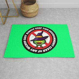 No Wicked Shit Rug