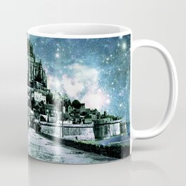 Enchanted Castle Teal Coffee Mug