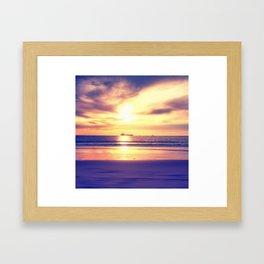 Vanishing Ships Framed Art Print