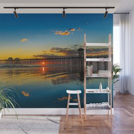 The Sky on the Sand Wall Mural