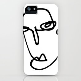 Faces Collection - Laura iPhone Case