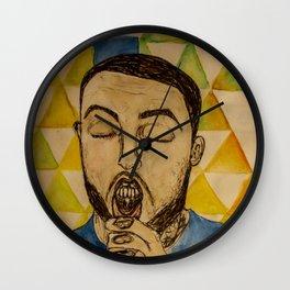 Blue Slide Park- Mac Miller Wall Clock