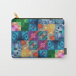 High Definition Geometric Quilt 1 Carry-All Pouch